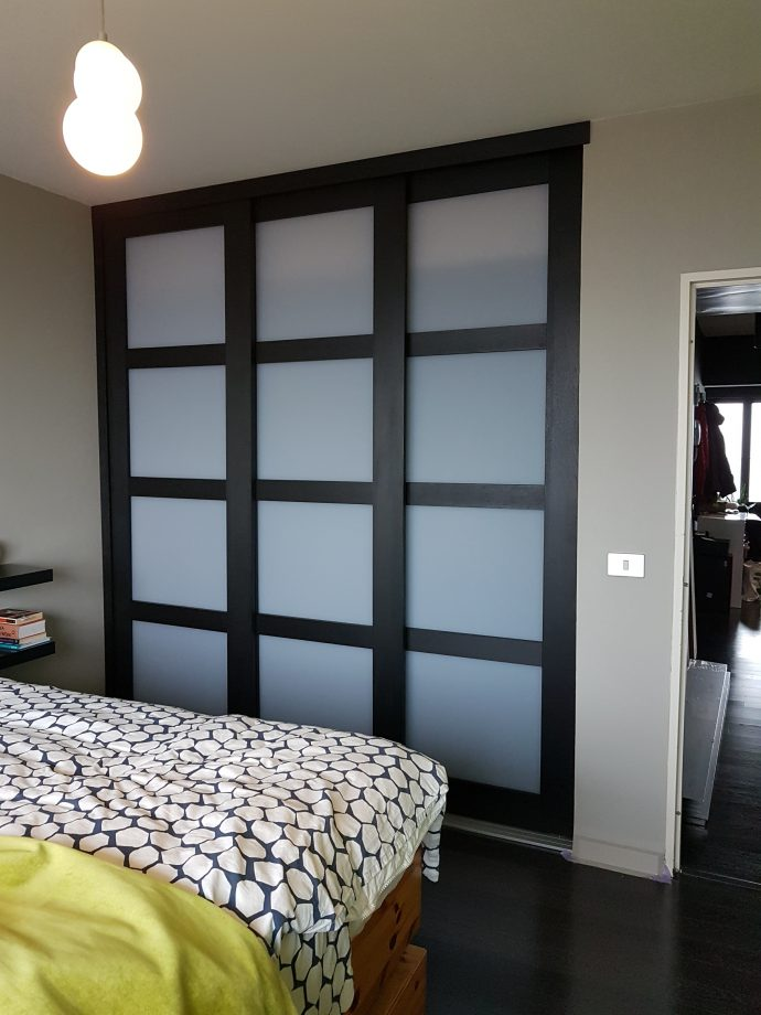 portes coulissantes japonaises par renaud quiddoes c d renovations. Black Bedroom Furniture Sets. Home Design Ideas